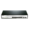 Smart+ DGS-1210-10 - commutateur - 8 ports - Géré - Montable sur rack
