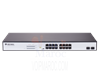 Switch 16 ports 10/100/1000 PoE+ Base‐T + 2 ports SFP Gigabit S1518‐16P‐330