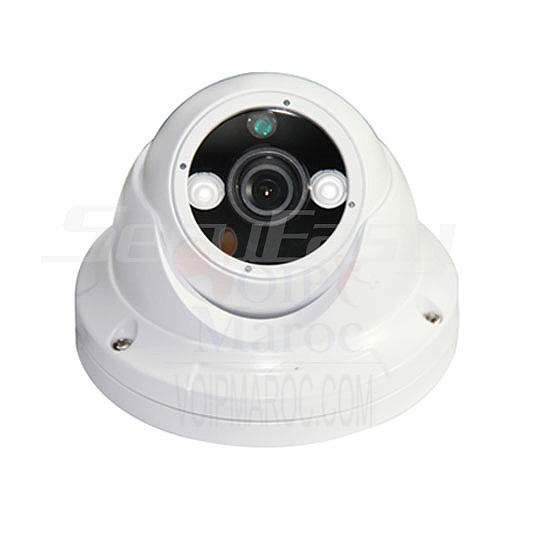 "Camera mini dome blanche color IR digital Color 1/3"" HD digital sensor,800 TV SE-CA325P"