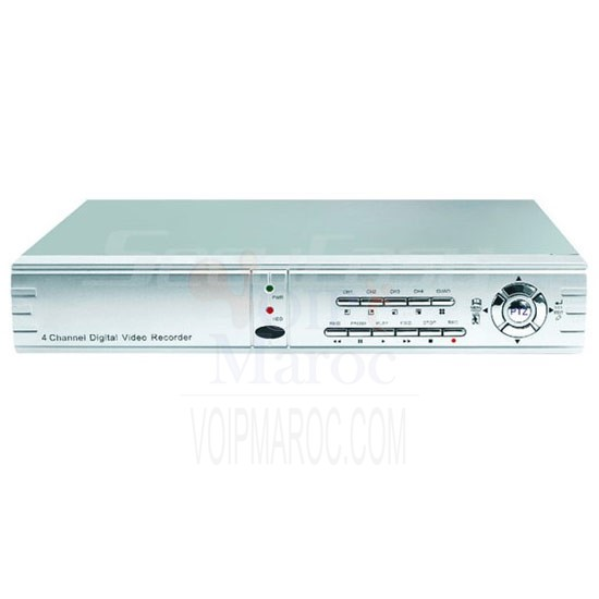 DVR 4-CH Video/Audio input H.264 compression SE-RD624V